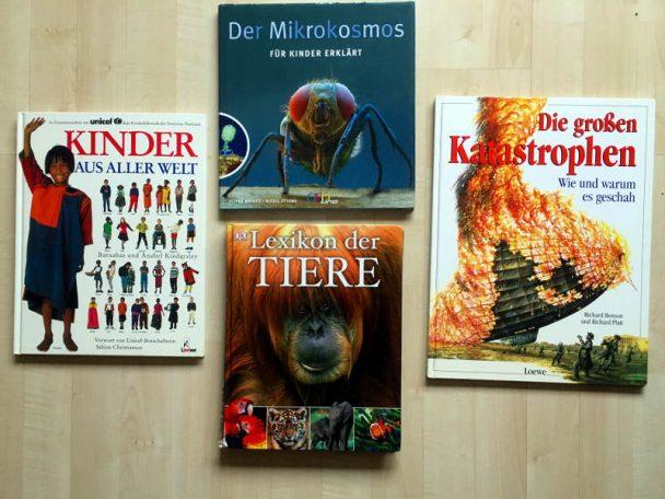 Hier findet ihr 5 tolle Sachbücher für Kinder, die uns besonders gefallen haben.