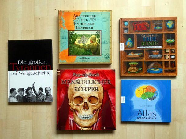 Hier findet ihr Tipps zu tollen Sachbücher für Schulkinder