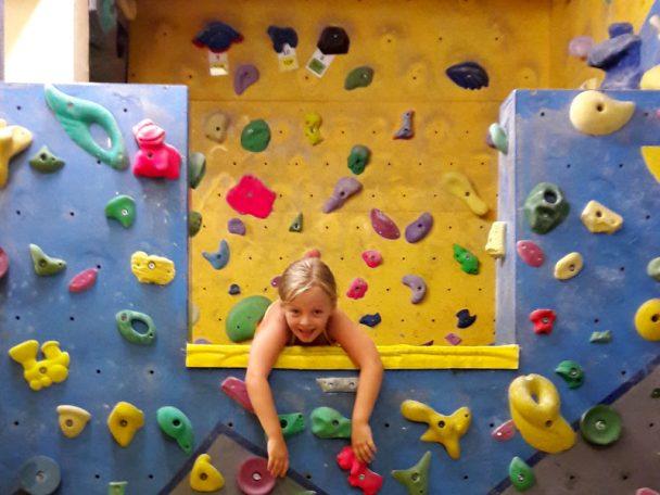 Kindergeburtstag in der Kletterhalle