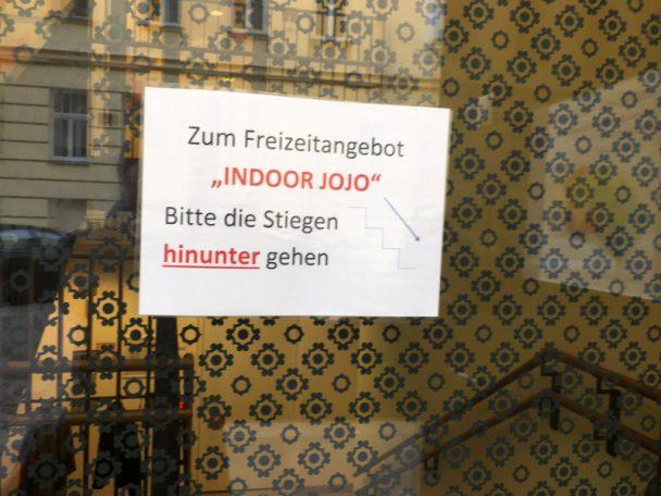 Indoor-Spielplatz JOJO im 8.Bezirk - tolle Sache für kleine Kinder.