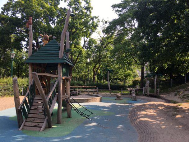 Spielplatz im Winer Stadtpark
