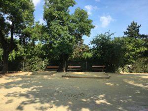 Spielplatz im Stadtpark - Sandbereich