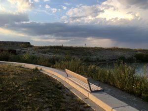 Plätze zum Drachen steigen lassen - Seestadt Aspern