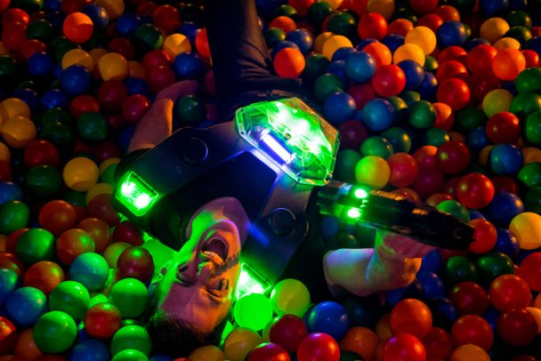 Lasermaxx spielen im Bogi Park