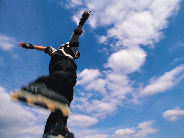 Von Free Running bis Parkour: Urban sports für Kinder