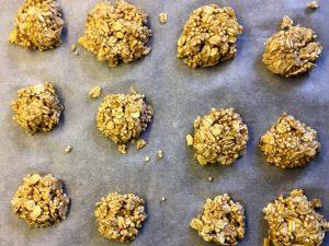Zuckerfreie Kekse - eine Jause, die einfach ist und schnell zubereitet werden kann.