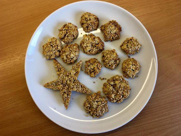 Kekse mögen viele Kinder, da ist es eine gute Idee, das zu nützen und zuckerfreie Kekse als Jause mitzugeben.