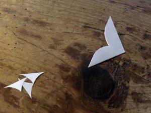 Papier-Sterne falten 3.