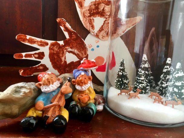 Eine Jahreszeiten-Ecke mit Kindern gestalten