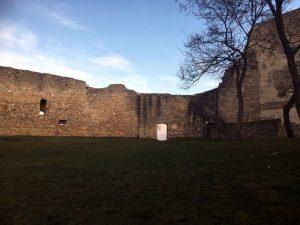 Burgruine Hainburg bietet einen herrlichen Ausblick