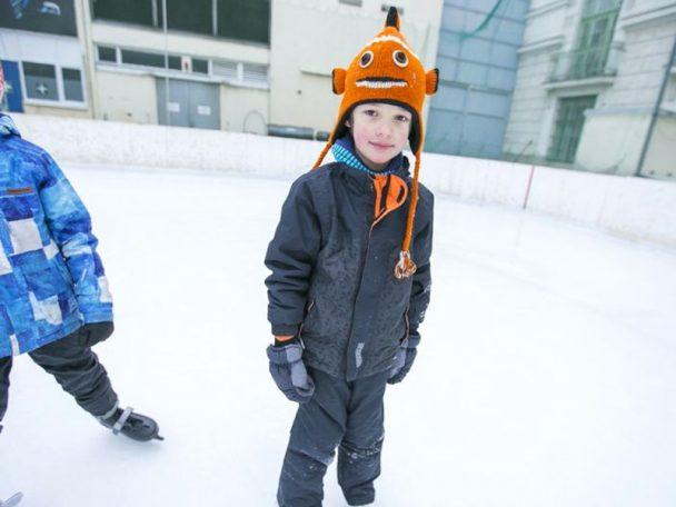 Eislaufen mit dem wienXtra-ferienspiel-Pass
