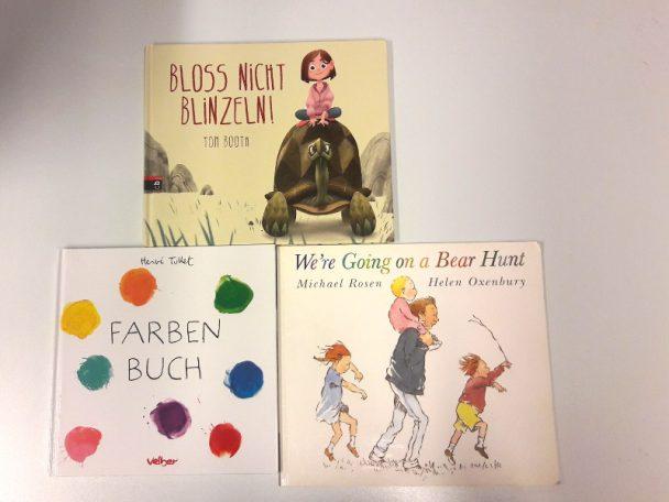 Mitmachbücher für Kinder ab 3 J.