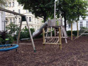 Spielplatz im Hamerlingpark