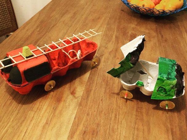 Diy Fahrzeuge Aus Eierkartons Kinderinfo Blog