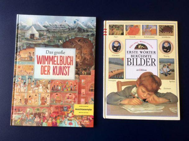 Kinderbücher zum Thema Kunst