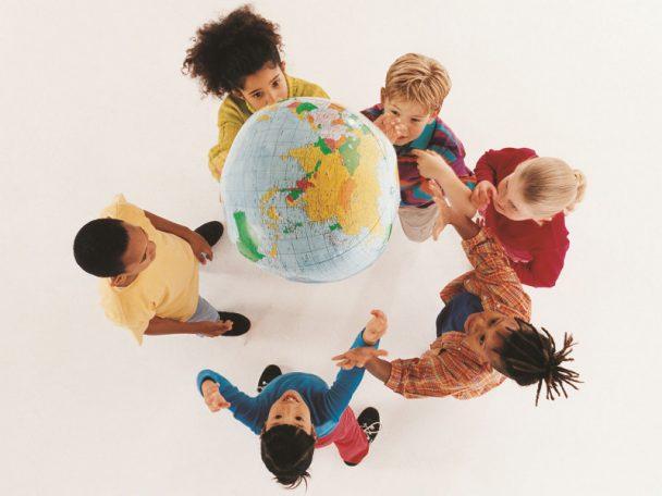 Kinder und die Welt