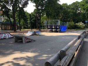 Spielplatz im Stadtpark