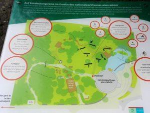 Nationalpark Lobau Übersichtskarte