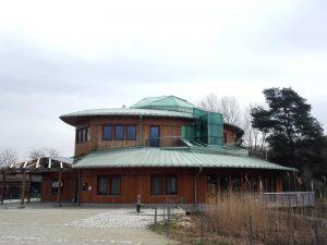 Eingang Nationalparkhaus Lobau
