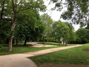 Gatsch Zone am Spielplatz im Schweizergarten