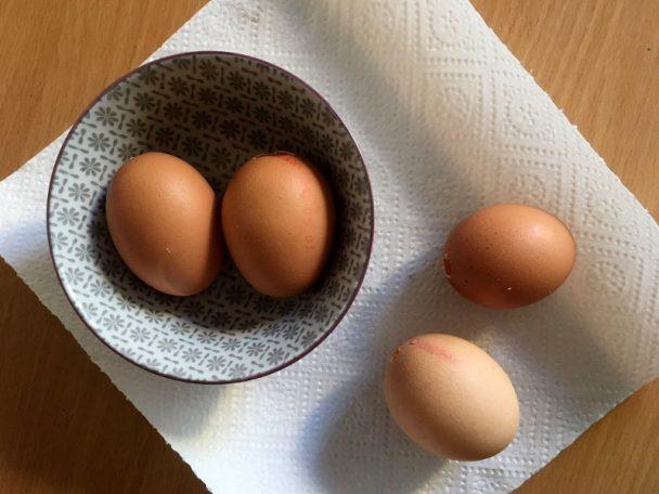 So könnt ihr Eier ausblasen