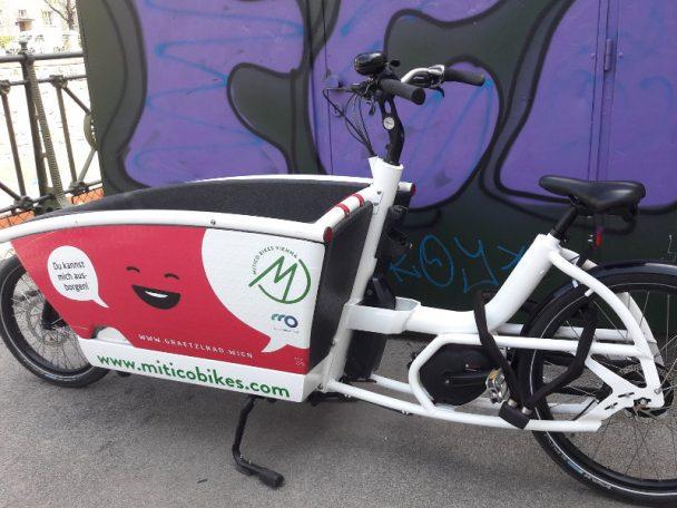 Grätzlfahrrad in Wien im blog.kinderininfowien.at