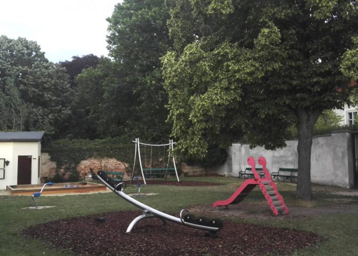 Spielplatz im Belvederegarten