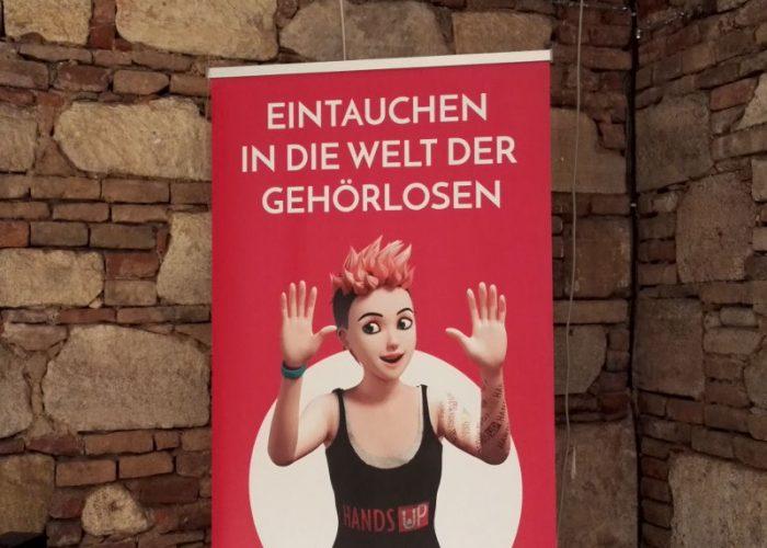 Hands up Ausstellung in Wien
