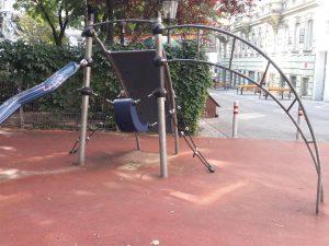 Vorplatz beim Spielplatz Loquaiplatz im blog.kinderinfowien.at