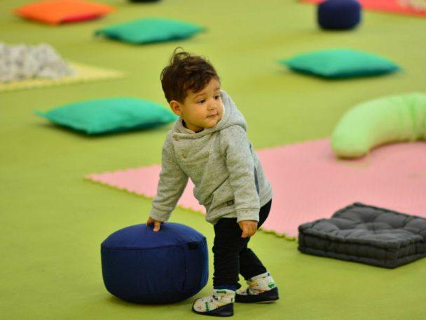 Bogi Park-Babyday im Indoorspielplatz